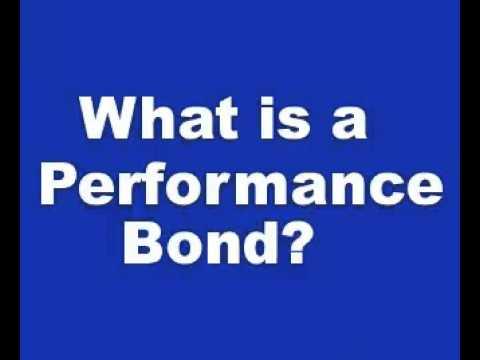 How do Performance Bonds Work?