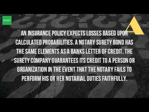 What Is A Surety Bond For A Notary Public?